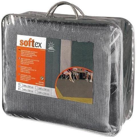 Τάπητας Arisol softex Γκρί 250 x 600
